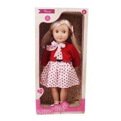 LUCKDOLL, различные стили, американская кукла (кукла для продажи + аксессуары для одежды) и игрушки для девочек, поколение, подарок на день рожден...
