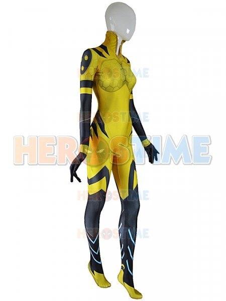 B.VA Cosplay Costume Adults Kids D.va BVA Plugsuit Superhero Halloween Bodysuit Zentai Second Skin Suit 1