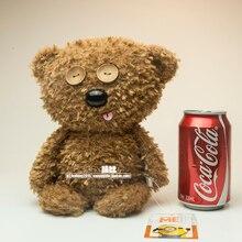 משלוח חינם מקורי נתעב אותי בוב של דוב טים בפלאש ממולא בובת צעצועי קיד של מתנה