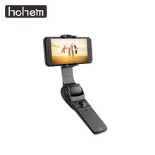 Hohem D1 Handheld Smartphone Folded Gimbal Stabilizer for iPhone Xs Max Xr X 8 7 6& Huawei& Samsung Galaxy S10 S9 S8 Smartphone(China)