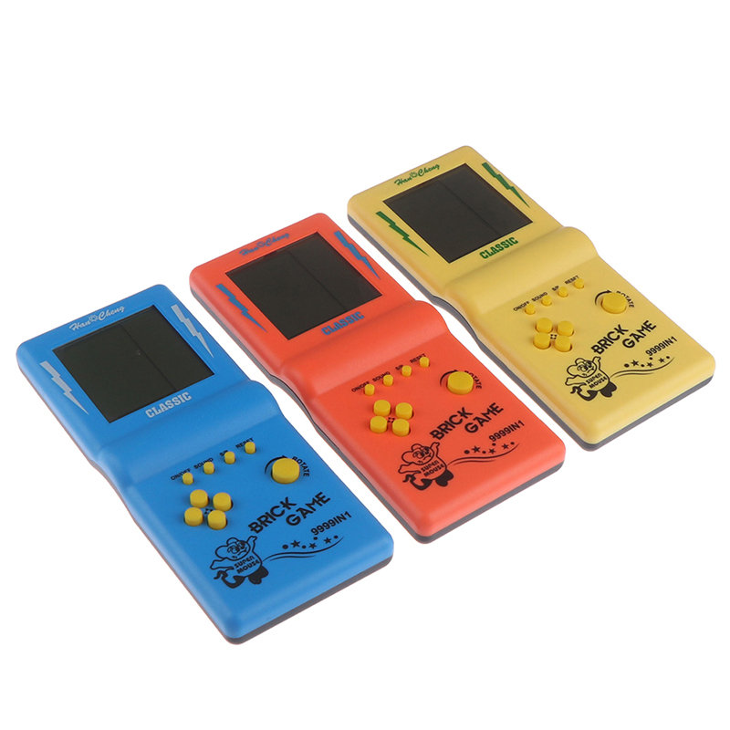 Games Toys Game Console Riddle Educational Smart Electric Retro Classic Childhood Tetris Handheld Game Players LCD Electronic