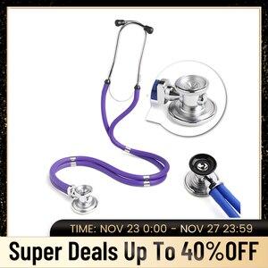 Image 1 - רב תכליתי רופא סטטוסקופ קרדיולוגיה רפואי סטטוסקופ מקצועי רופא אחות רפואי ציוד רפואי מכשירים