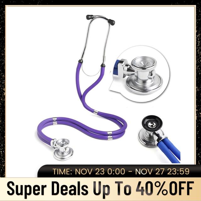 רב תכליתי רופא סטטוסקופ קרדיולוגיה רפואי סטטוסקופ מקצועי רופא אחות רפואי ציוד רפואי מכשירים
