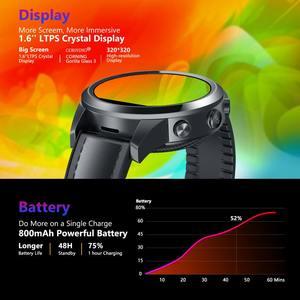 Image 3 - הכי חדש דגל Zeblaze THOR 5 פרו חכם שעון גברים קרמיקה לוח 3GB + 32GB Dual המצלמה 800mAh GPS שעונים חכם שעון כושר