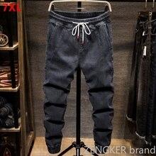 Herfst En Lente Modellen Elastische Taille Harlan Jeans Mannen Tij Merk Vet Vet Mensen Grote Maat Kleine Voeten Sluiten tooling Beam