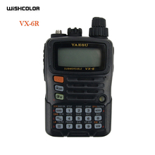 For YAESU VX 6R Dual Band Transceiver UHF VHF Radio IPX7 Mobile Walkie Talkie For Driving Outdoors New Arrival