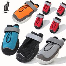 Dog Shoes Anti-slip Anti - collision Reflective Straps Four seasons shoes Suitable for small and large dogs Breathable Net