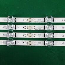 Новые светодиодные ленты 100% года, 8 шт. (4 * A,4 * B), заменяемые новые для LG INNOTEK DRT 3,0 42 дюйма-A/B Тип 6916L 1709B 1710B 1957E 1956E 6916L-1956A