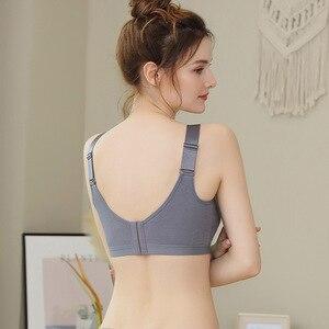 Image 2 - Reißverschluss Unterwäsche frauen Ring weniger Bh Geschlossen mit Zubehör Milch zu Verhindern Dropping Sexy Zurück Bh