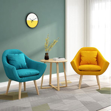 Nordic Single Lazy Sofa Tatami Bedroom Simple Small Sofa Chair Armchair Creative Leisure Balcony Sofa Lounge Chair