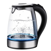 Glass Electric Kettle Automatically Auto Power Off Stainless Steel Anti Hot Electric Kettle Household Kitchen Appliances EU Plug Electric Kettles     -