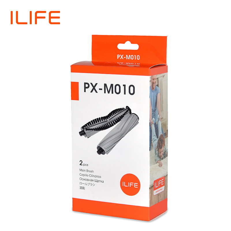 ILIFE  A7 A9s L100 A10S A80PLUS  Roller Brush Rubber Brush Replacement Kits for Robot Vacuum Cleaner PX-M010 1