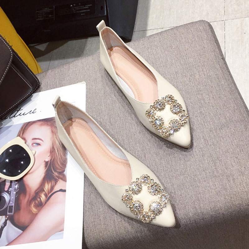 Fashion Flats for Women Boat Shoes Brand Ladies Flats High Quality Women Single Shoes A1927