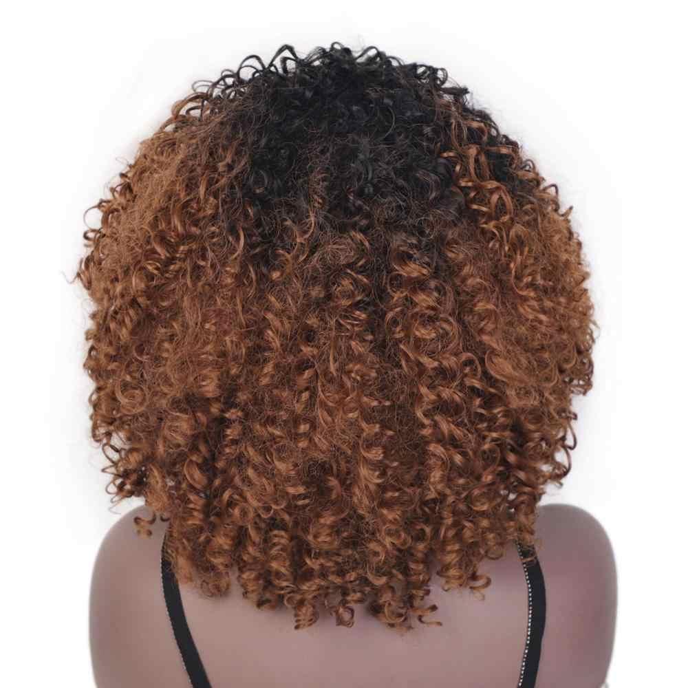 Doris beleza longo ombre cinza branco perucas para as mulheres sintético encaracolado peruca afro cosplay cabelo natural prata preto marrom vermelho