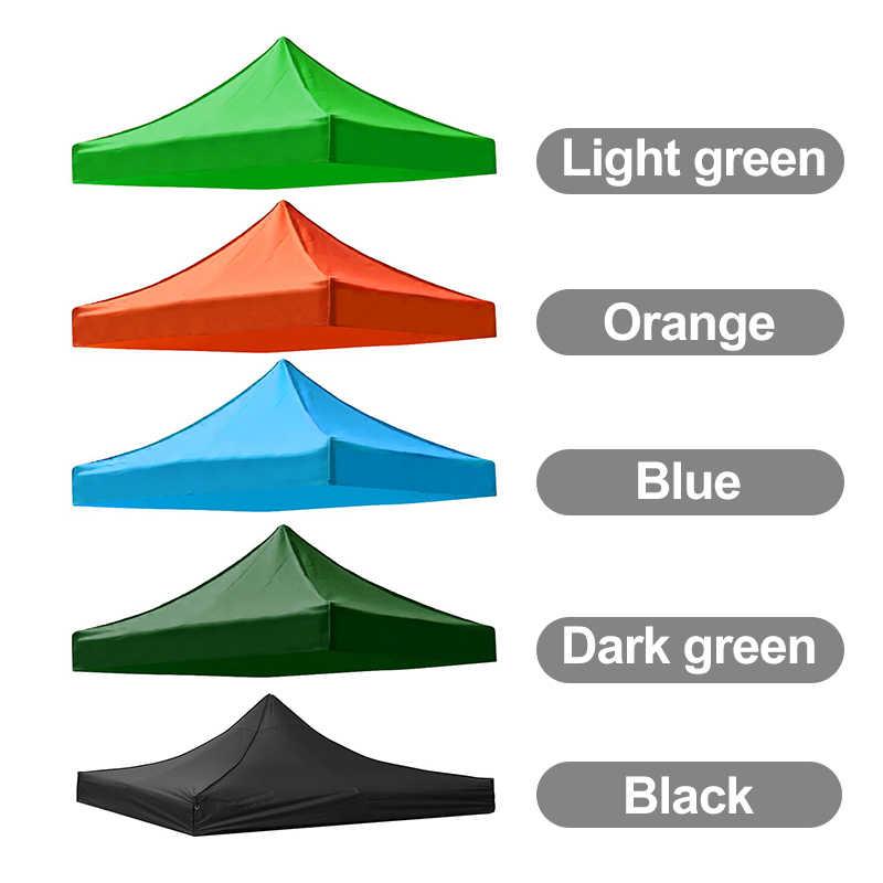 Meigar için 3m x 3m x 3m 420D su geçirmez Oxford gölgelik bahçe veranda çadır güneş barınak Gazebo gölgelik beyaz dış ortam tente pazar gölge anti UV çadır