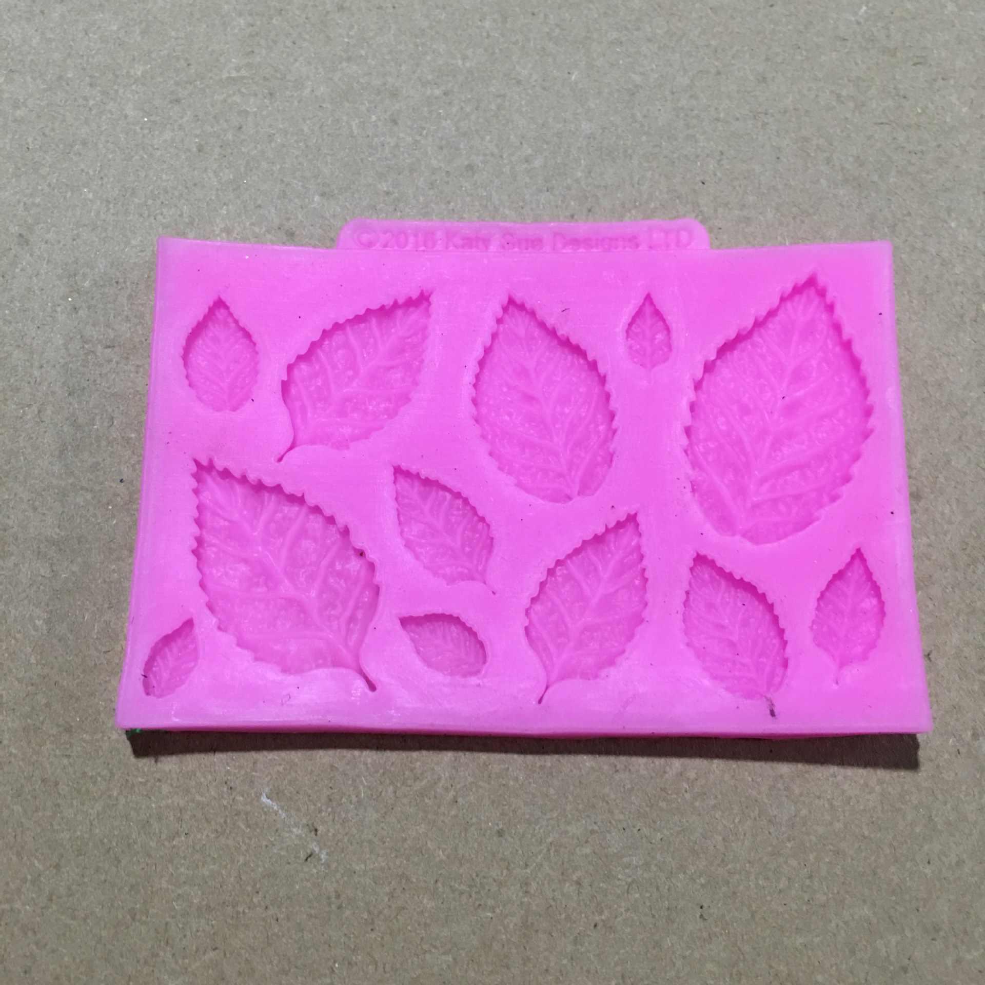 BK1121 liść silikonowe formy ciasto dekoracyjne tynk