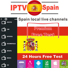 Premium IPTV Spain M3U 1 Year Subscription Local Live TV Movistar DAZN Adult Xxx For SSIPTV Android TV Box Smart IPTV Smarters(China)