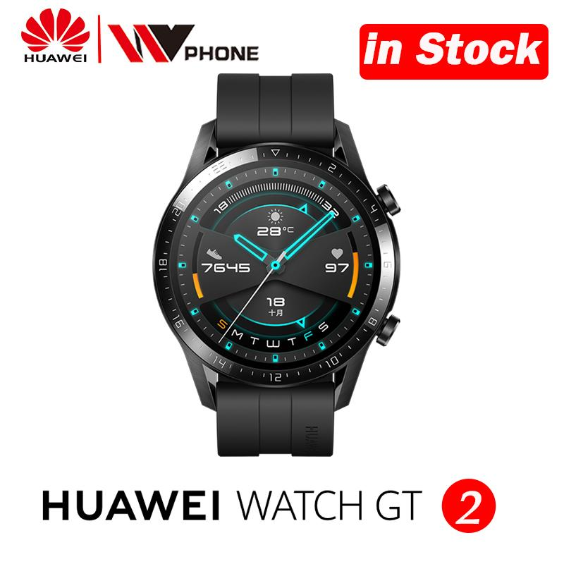 <font><b>Huawei</b></font> <font><b>Watch</b></font> <font><b>GT</b></font> <font><b>2</b></font> Smart <font><b>watch</b></font> blood oxygen tracker spo2 Bluetooth Smartwatch 5.1 Phone Call Heart Rate Tracker For Android iOS image