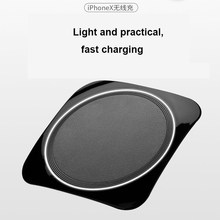 Qi Wireless Quick Charger สำหรับ redmi K20 Pro หมายเหตุ 5 Xiaomi Mi 9 USB Charger สำหรับ IPhone XS MAX x 6 7 8 PLUS Wireless Charger IY147(China)