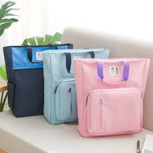 2020 New Canvas A4 File Folder Document Book Bag Desk Paper Organizer Storage Handbag For Students School Office Stationery