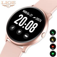 LIGE 2019 New Waterproof Smart Watch Women Heart Rate Monito