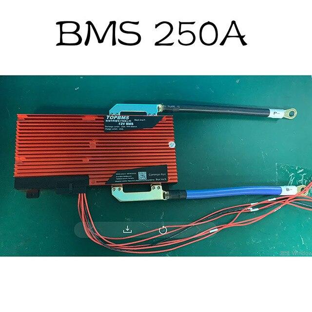 LTO BMS 5S 32S BMS 250A, LTO 배터리 용 빠른 충전 2.3V2.4V 5 32 시리즈 태양 광 발전 e 카에 연결