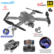 Caldecott L106 Pro2 GPS Drone 4K HD Dual Camera 2-axis Gimbal Aerial Photography Brushless Foldable Quadcopter RC Distance 1200M
