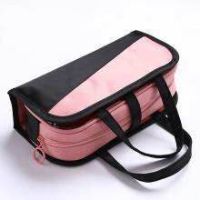 GloryStar Big Capacity Pencil Case Bag Pouch Pen Holder for College Girl Adult Large Storage Pink Stationery Bag