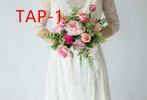 Wedding bridal accessories holding flowers 3303 TAP