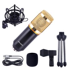 BM-800 Condenser Microphone BM800 karaoke microphone studio condenser  KTV mic For Radio Braodcasting Singing Recording computer metal 55sh microphone rose gold color vocal dynamic retro vintage mic 55 sh for mixer audio studio video singing recording