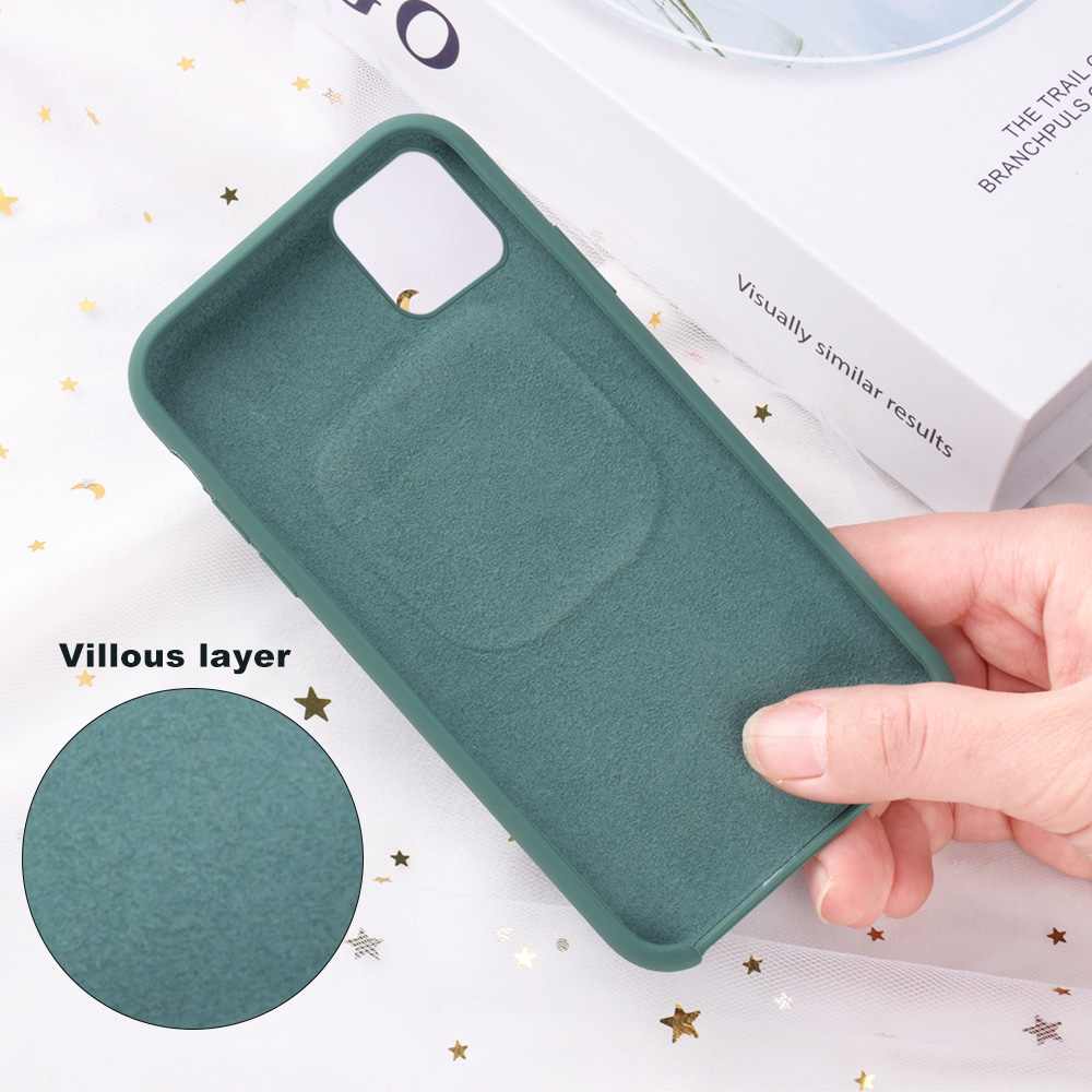 2 In1 Silicone Phone Case For iPhone 11 Pro Max Xs Max Xr X 10 With For AirPods Holder Case