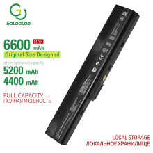 Golooloo 6 cells laptop battery for Asus A32-K52 A41-K52 A42-K52 K52F-SX065X K52F-SX074V K52J K52JB K52JC K52JE K52JK K52JR все цены