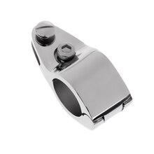 2x Boat Bimini Top Cap + Jaw Slide Hinged, 316 Stainless Steel Marine Hardware Fitting 1 Inch 25mm