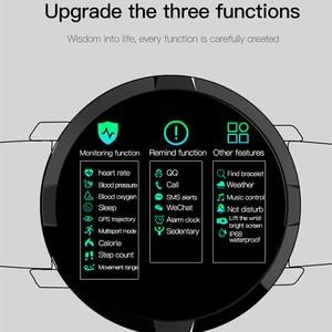 Image 5 - F13 Full Screen Touch Men Steel Smart Watch Sports Heart Rate Pedometer Fitness Tracker Waterproof IP68
