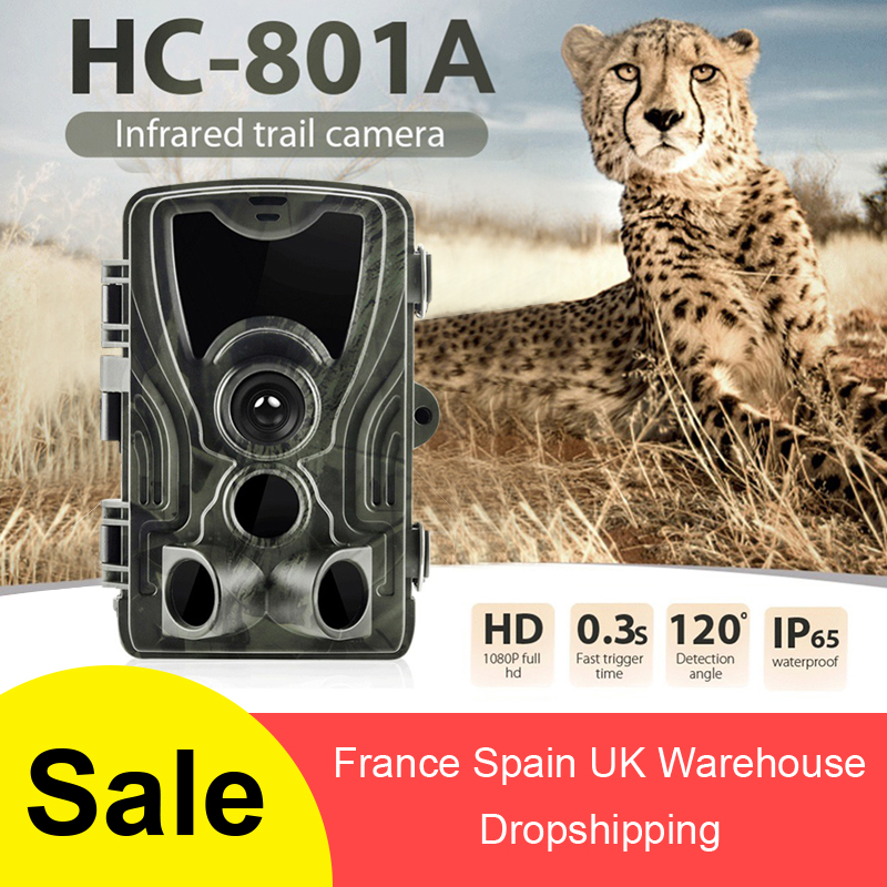 HC801A Hunting Camera 16MP Trail Camera Night Vision Forest Waterproof Wildlife Camera Photo Traps Camera Chasse