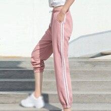 Women Pants Tracksuit Bottoms Casual Trousers Gym Long Elastic Waist Slacks Sports