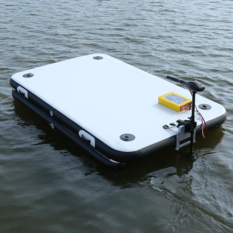 Fishing Magic Carpet Buoy Enhanced Inflatable Fishing Floating Platform Luya Inflatable Boat Rubber Boat 5