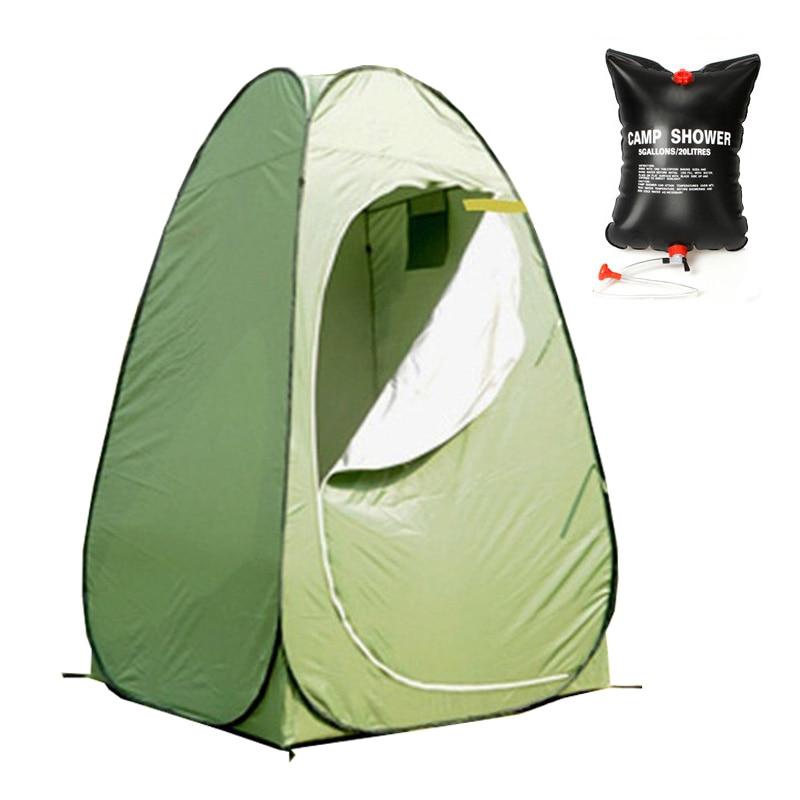 portativ tualet çadır şəhərciyi tualet portativ dəyişən çadır Açıq duş çadırı Vanna dəyişdirmə paltarları Duş çantası olan çadır tualet