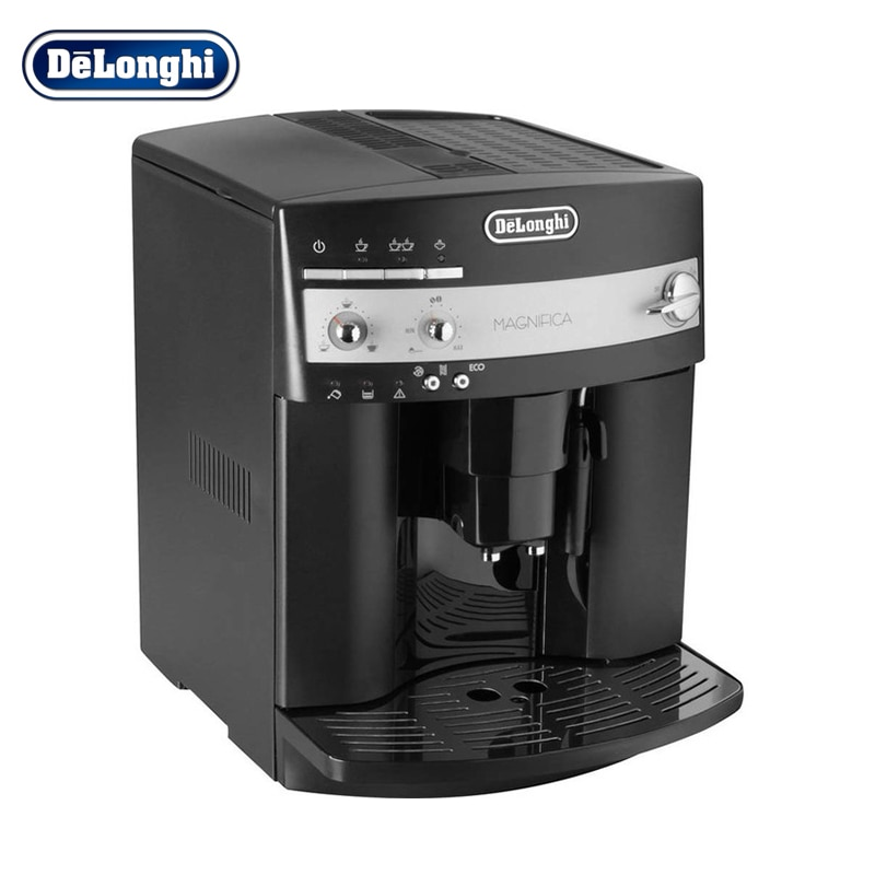 лучшая цена Coffee machine DeLonghi ESAM 3000.B coffee machine Household appliances for kitchen coffee maker Automatic grain Capuchinator