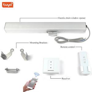 Window-Opener Chain Skylight Greenhouse Tuya Wifi Open-Close Smart-Home-Automation 24V