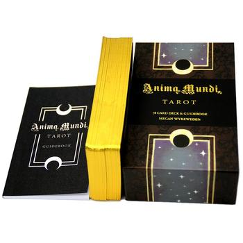 78Sheets/Set Tarot Cards Gold-Plated Series Anima Mundi Tarot Oracle Divination Tarot Out Of Print Series Party Play Card Games карты таро u s games systems мечты гайи dreams of gaia tarot