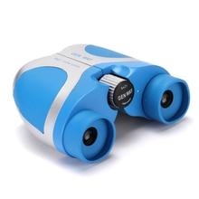 HUANDEE portable mini binoculars telescopes  8X21 toy Telescope for kids High Quality Clear Vision Waterproof Binocular blue