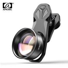 Apexel hd 2x telefoto lente retrato profissional da câmera do telefone móvel lente telefoto para iphone samsung android smartphones