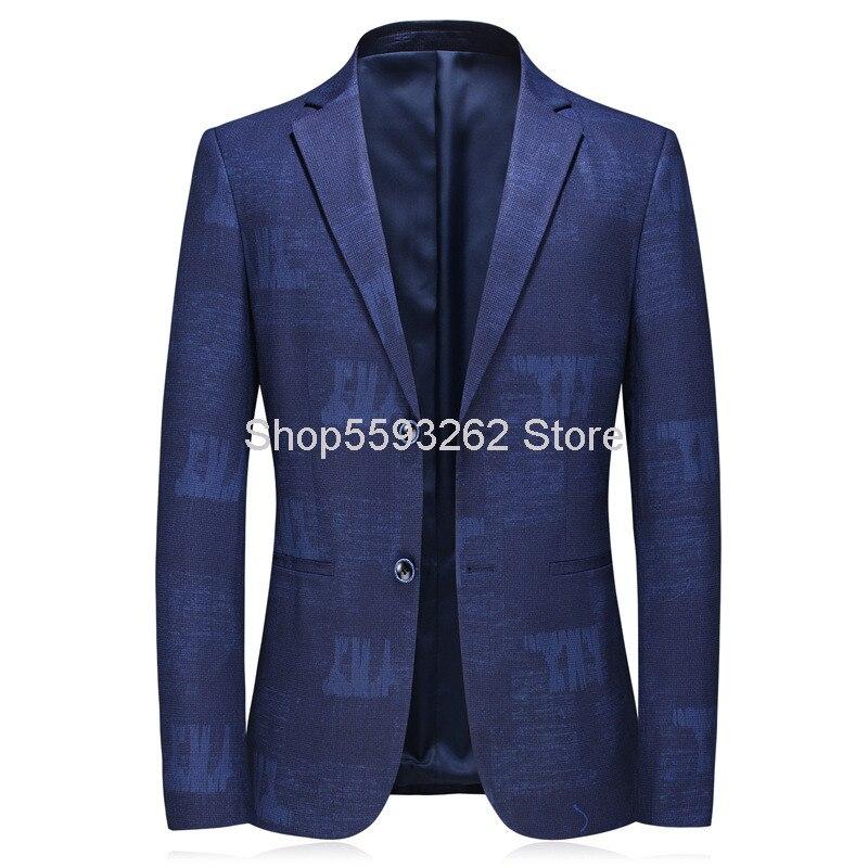 20 Years Men Business Leisure Suit Coat Single West Top C652