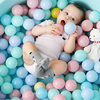 100 PCS Children's Ocean Ball 7cm Color Ball Thicken Bobo Pool Small Ball Pool Indoor Children's Toy Ball