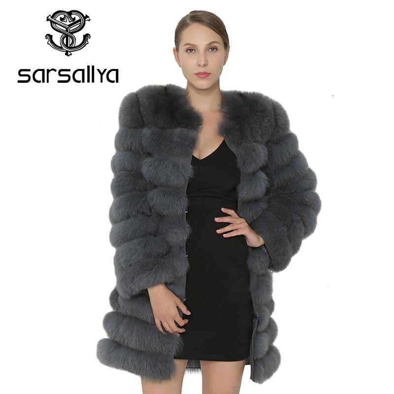 Real casaco de pele de raposa mulheres casacos de pele real natural parka colete inverno vison casaco de pele de raposa outerwear mulher roupas