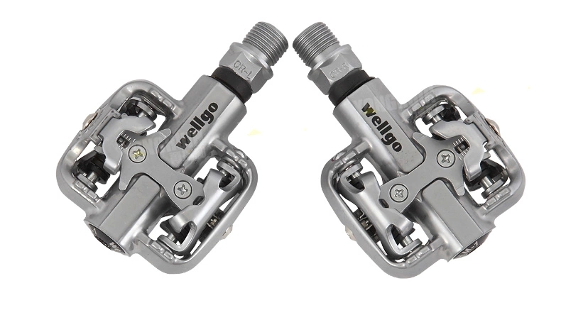 Wellgo WM001 MTB Off-road Bike Clipless Pedals Compatible With Cleats