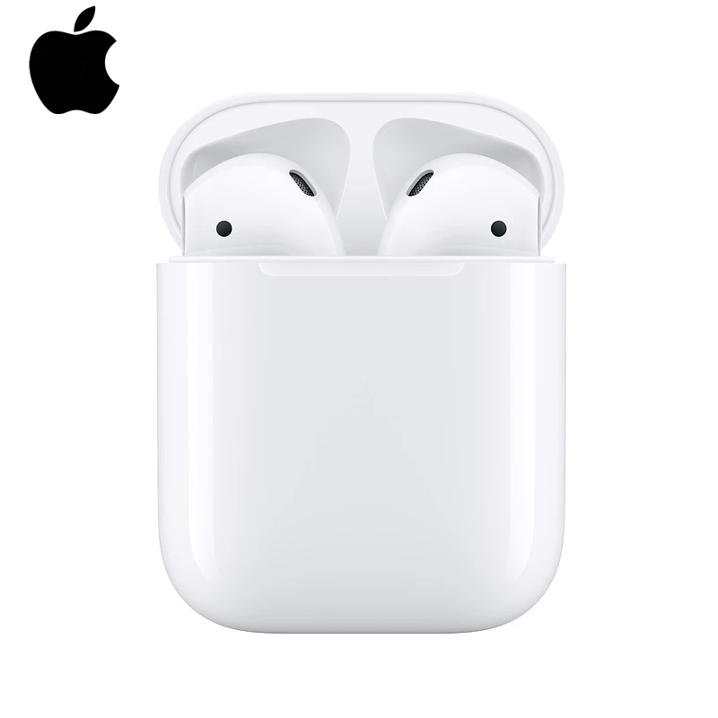 Apple AirPods 2nd kablosuz şarj kılıf ile Bluetooth kulaklık kulaklık iPhone iPad MacBook iPod Apple izle