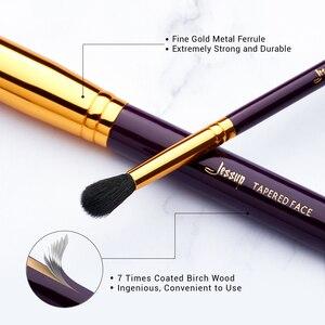 Image 3 - Jessup makyaj fırça seti 15 adet kozmetik araçları makyaj fırça pudra fondöten kapatıcı göz farı Eyeliner dudak fırçası güzellik