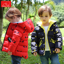 цены winter kids jacket warm boys girls hooded jacket fashion children cotton outerwear overcoat child clothing coats
